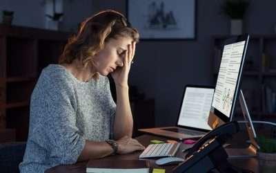 Wat is het verschil tussen stress, over- spannen en burn-out?
